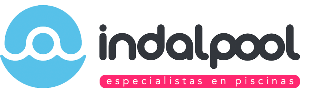 Logotipo Indalpool. Especialists en Piscinas.